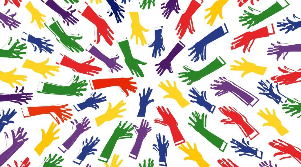 Hände vermitteln Eigenschaften