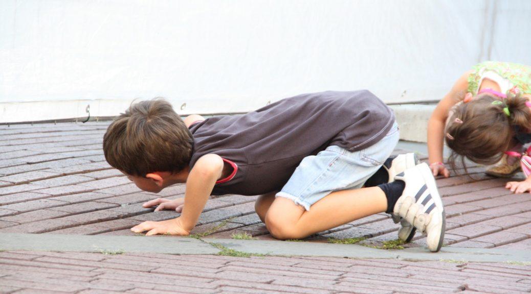Kinder sind seit jeher sehr neugierig