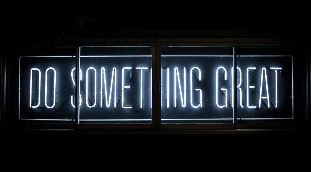 Um etwas Großes zu erreichen brauchst du Leidenschaft