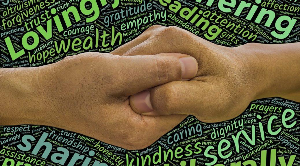 Vertrauen, Wärme, Geben und Nehmen sind Themen dieser Geschichte von Swabedoo
