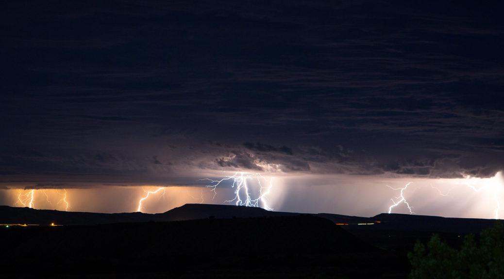 Ein Gewitter kann ein enormes Potenzial besitzen