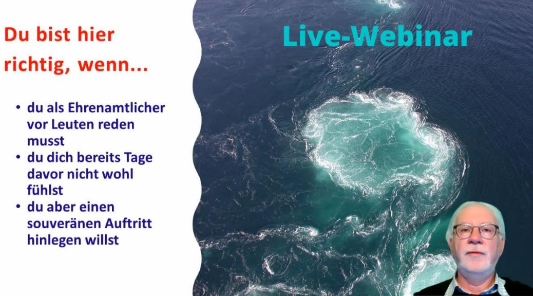 Mein 1. Live-Webinar hat mich 6 Lektionen gelehrt