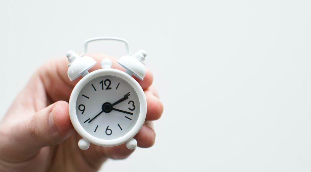 Sich Zeit nehmen für die wichtigsten Dinge im Ehrenamt